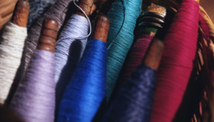 Using four different colors of thread will make troubleshooting thread tension a lot easier.