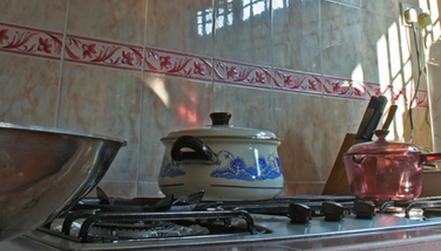 Install a cooktop stove in your kitchen.