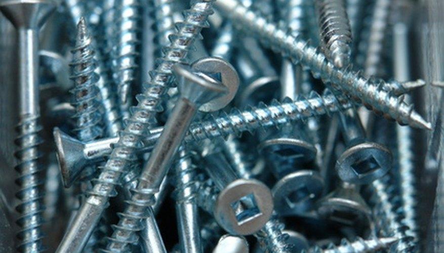Use 3 1/2-inch deck screws to affix steps to platform.