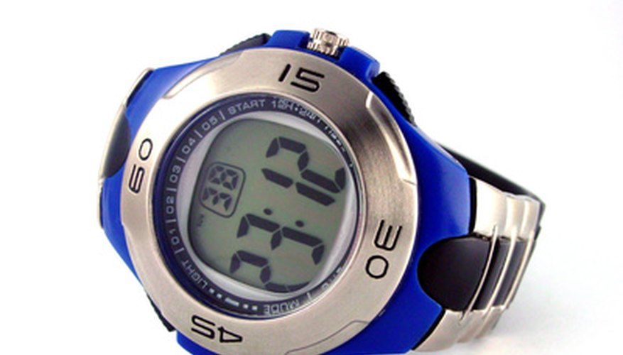 A radio-controlled watch can adjust automatically in various time zones.