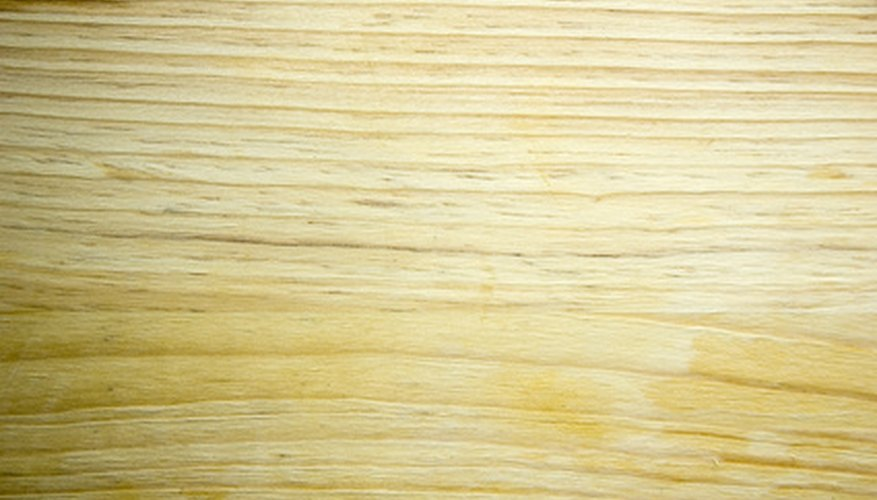 Wood stain is available in a variety of colors and tones.