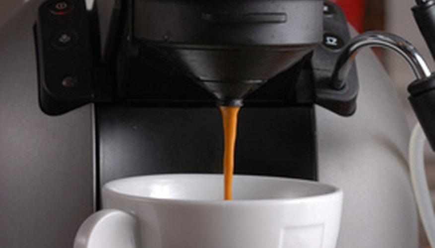 Coffee makers and espresso machines emit steam when operating.