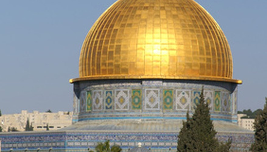 Solomon's Temple is occupied by the Islamic Dome of the Rock in Israel.