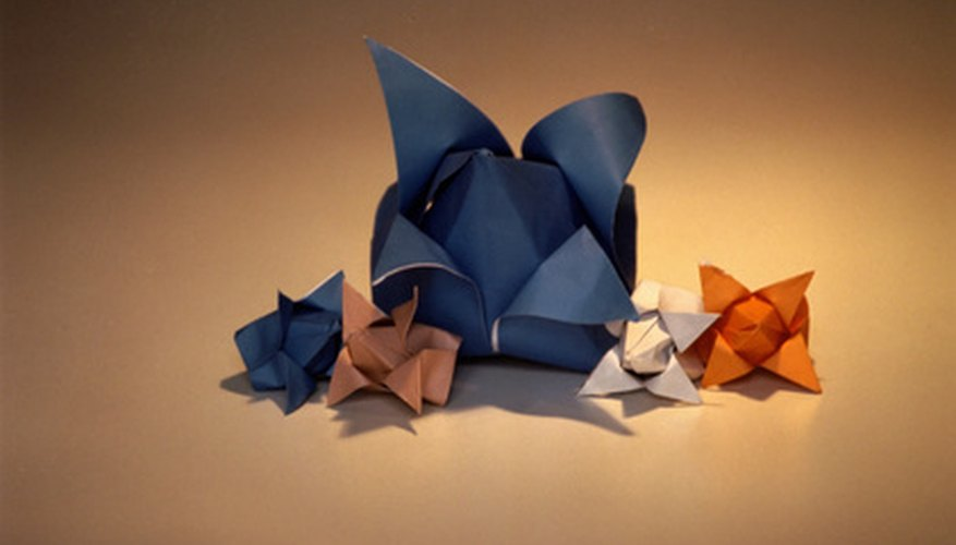 Origami is an enjoyable hobby that renders beautiful pieces of art.
