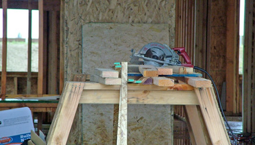 A miter saw is an important tool for installing shadow boxes for wainscoting.