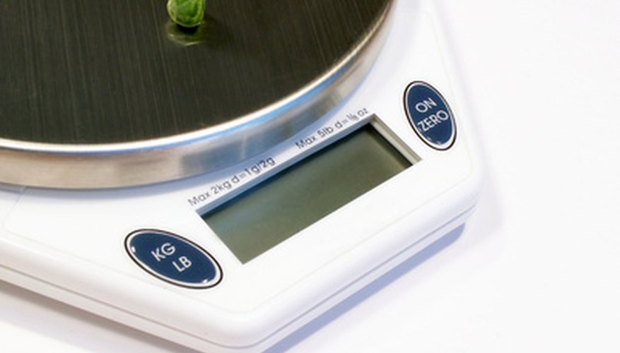 Digital scales are a must-have to weighing out materials.
