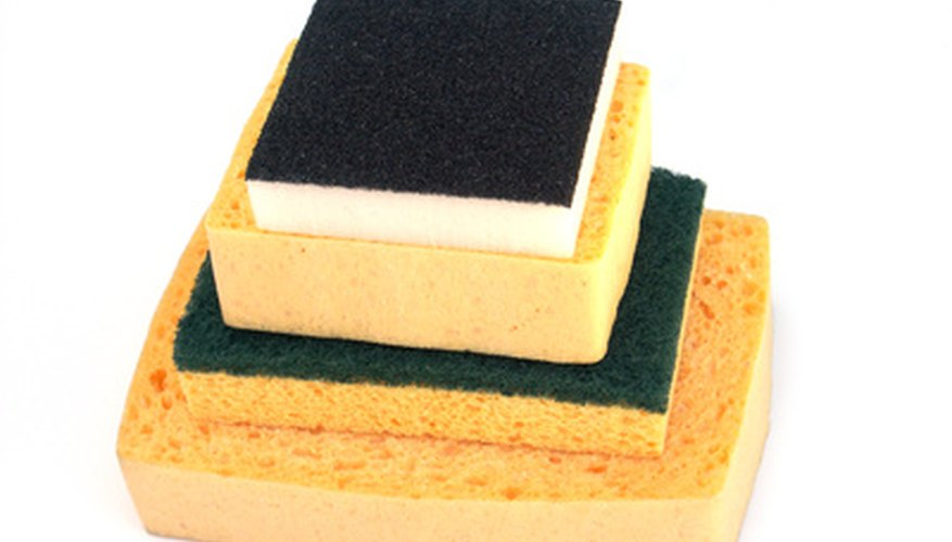 Sponge-backed wet sanding pads can create a glass-like finish.