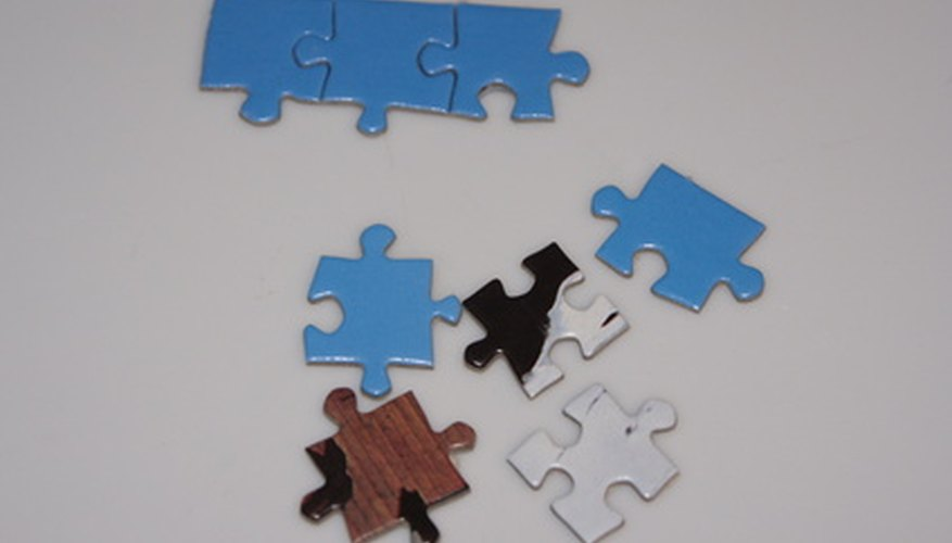 Create a puzzle to suit various ages of children.
