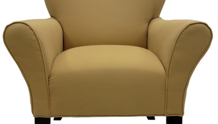 Revitalize an old chair with minimal investment.