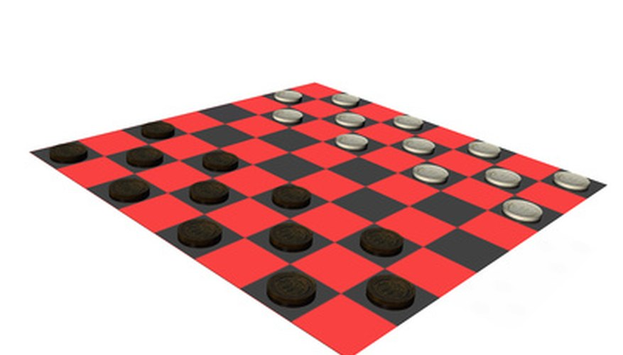 There are certain guidelines for the king in checkers.
