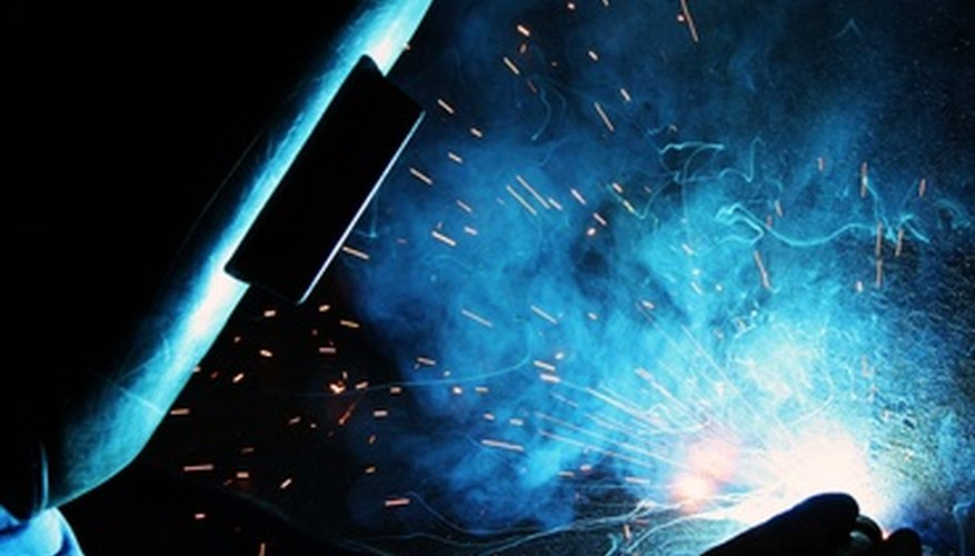 Arc welding requires practice to achieve good technique.