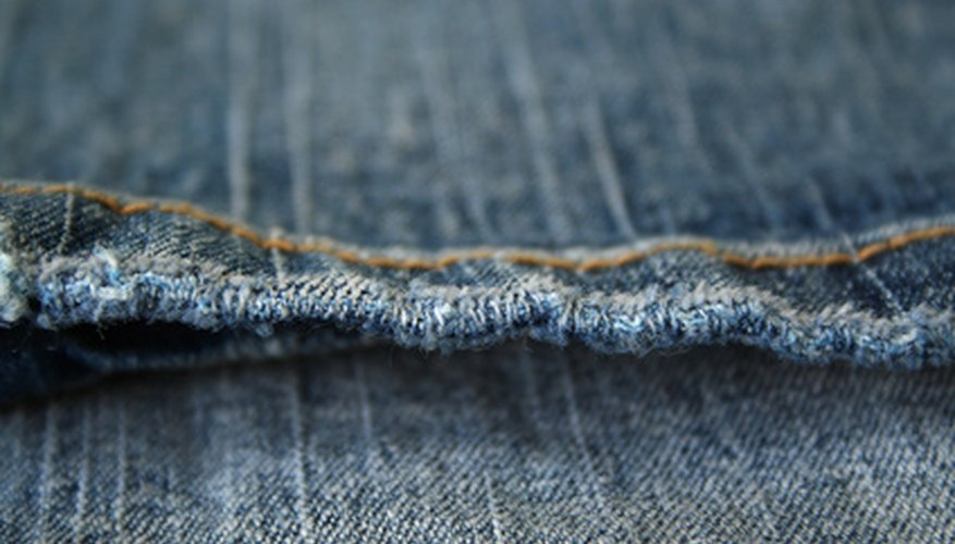 Use the Singer Pixie Plus to repair seams in denim and other heavy fabrics.