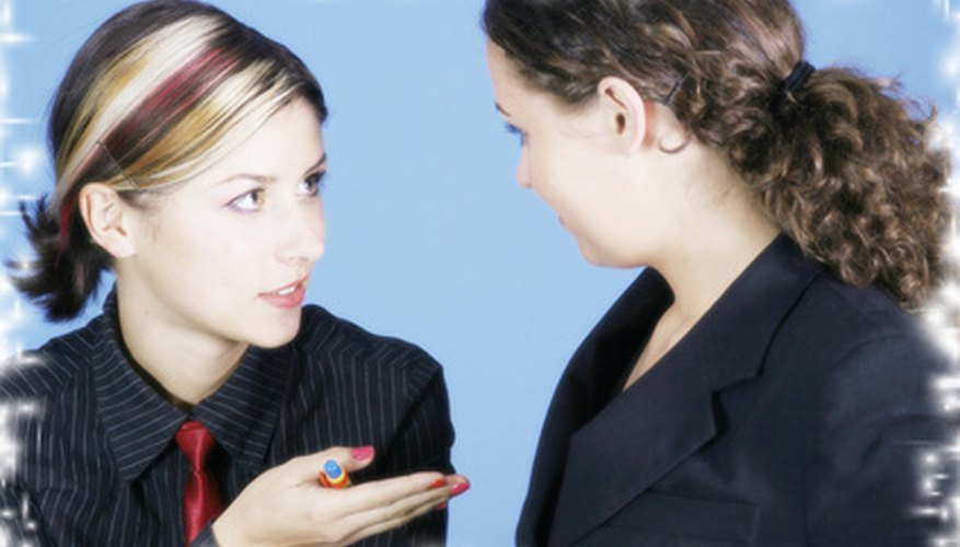 Office gossip can be the source of many rumors.