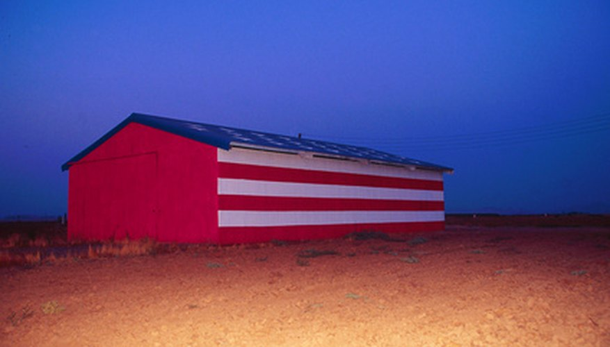 A metal pole barn can be insulated to improve its ability to retain heat.