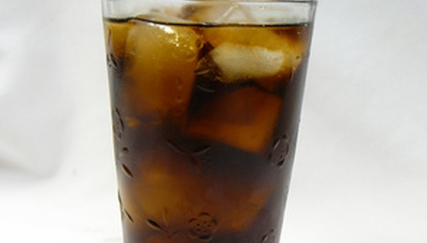 The pH of soda is similiar to that of straight vinegar.