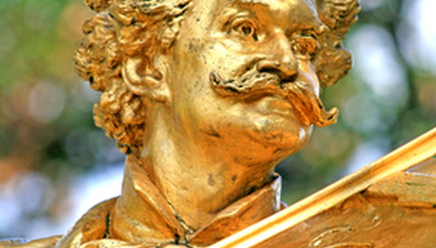 "Vienna reveres Johann Strauss junior as the ""king of waltzes."""