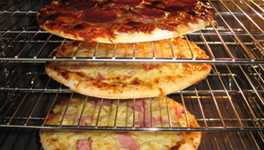 Oven cleaning removes crumbs and particles left behind from food.