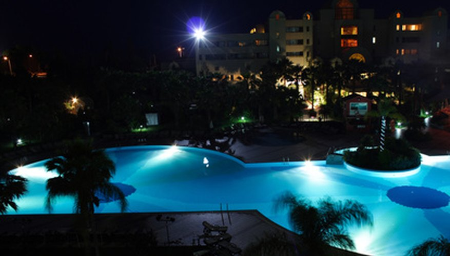 All public swimming pool lighting must make maindrains visible at night.