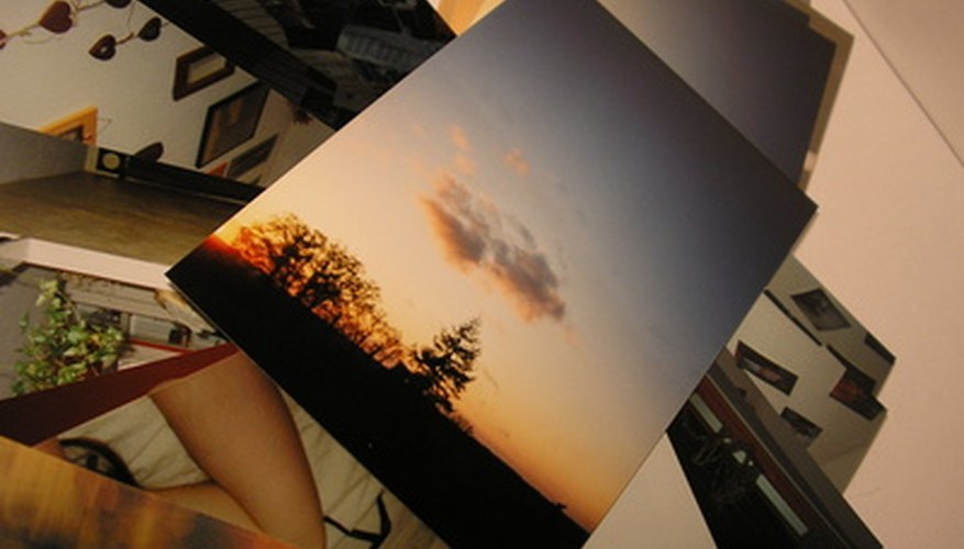 Display your photos with block mounting.