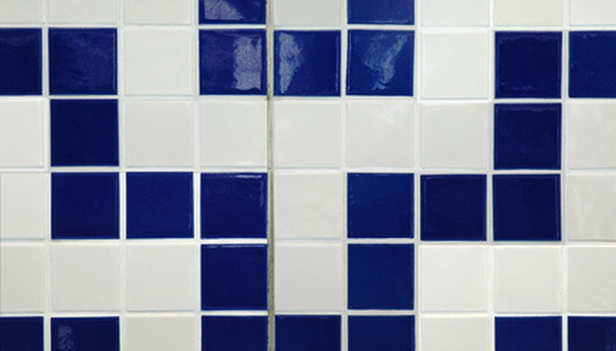 Ceramic tiles are commonly used in the bathroom.