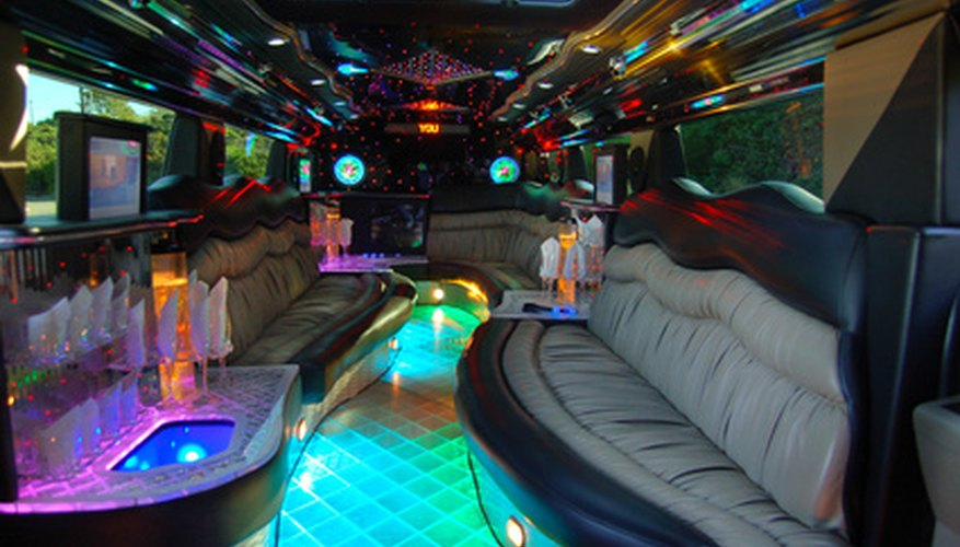 Relax in a limo while searching for items on your list.