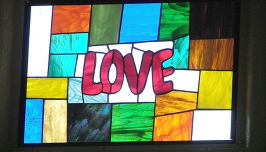 Stained glass can send a beautiful message.