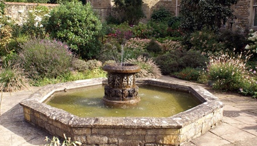 How To Make An Outdoor Fountain.How To Make Outdoor Fountain Bases