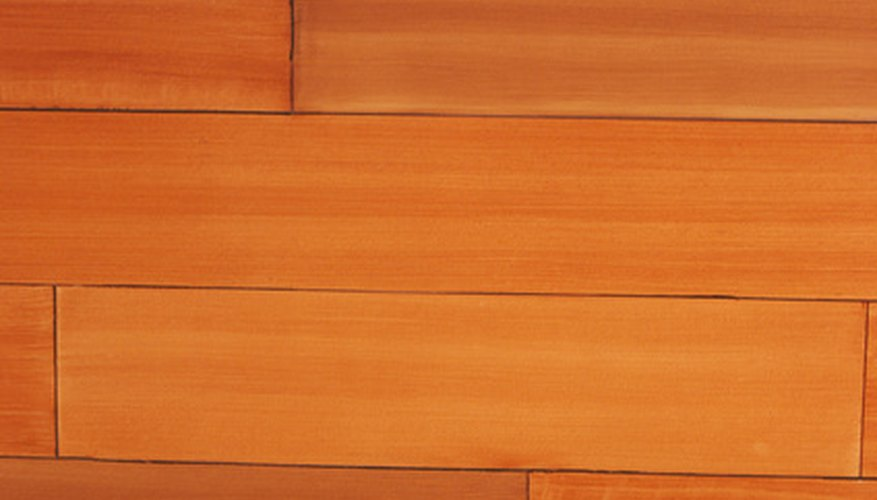 Typical wood flooring.