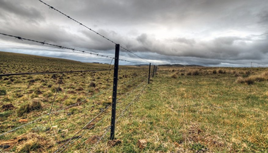 Millions of miles of field fence stretch across the world's landscapes.