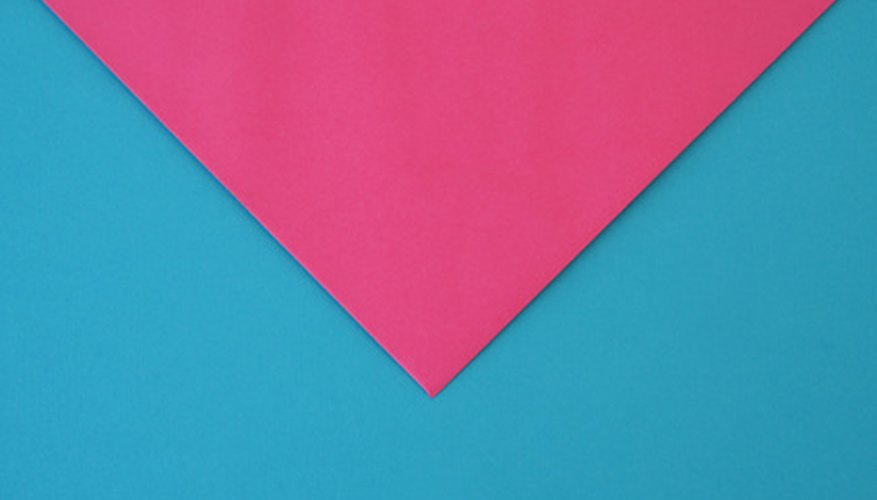 Use different shades of card stock to make unique envelopes.