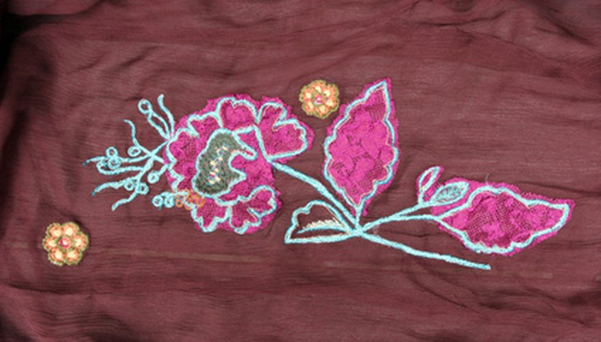 HP Photosmart printers can be used to print designs directly onto fabric.