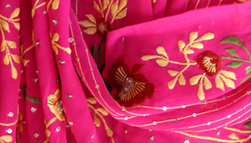 Use beautiful, bright jewel-tone fabrics.