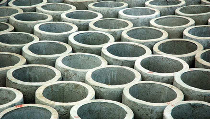 Reinforced concrete pipe is strong and versatile.