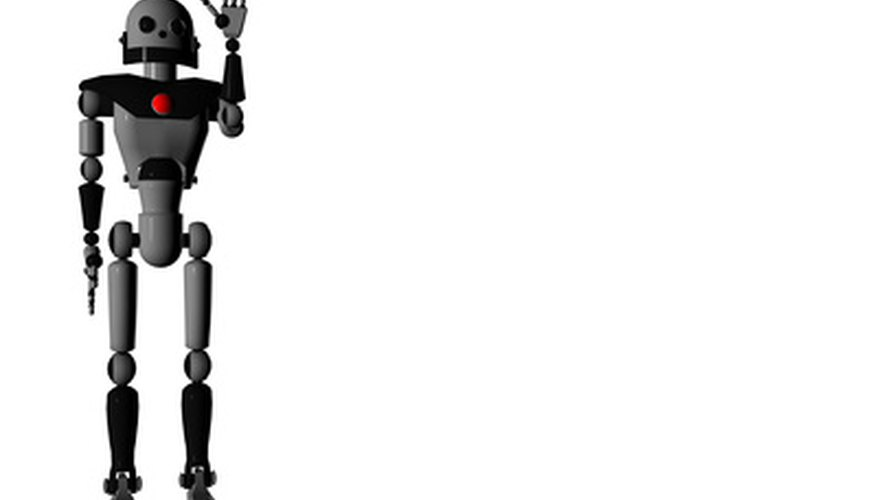 The Lego robotics kit offers students the opportunity to build and understand humanoid robots.