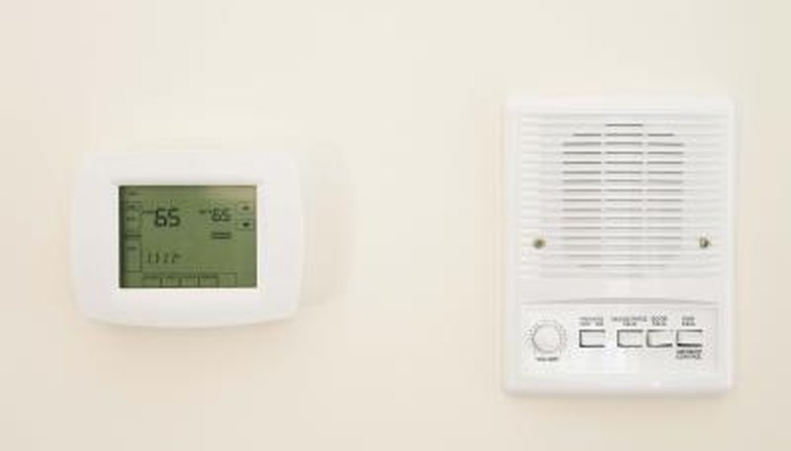 An intercom system allows you to find out who your visitor is before coming to the door.