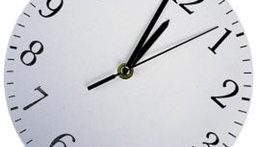 Analog refers to the hands on a clock face.