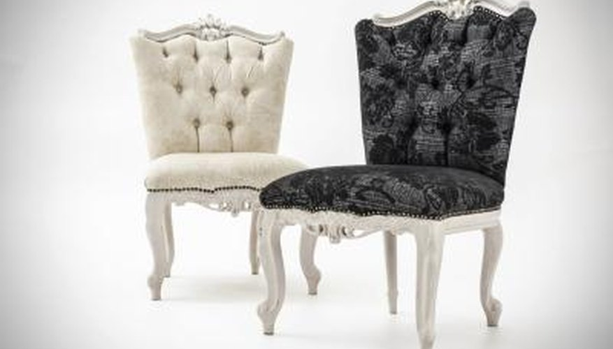 Nailhead trim adds a luxurious touch to upholstered furniture.
