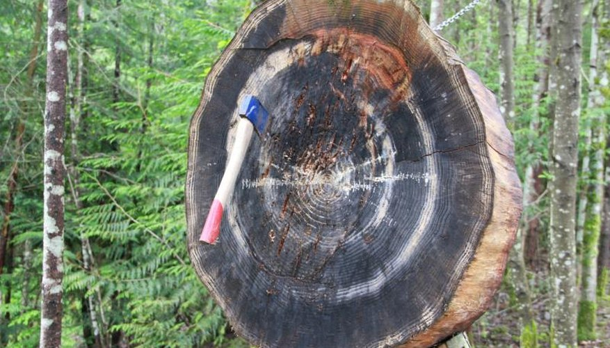 How to Make an Axe-Throwing Target