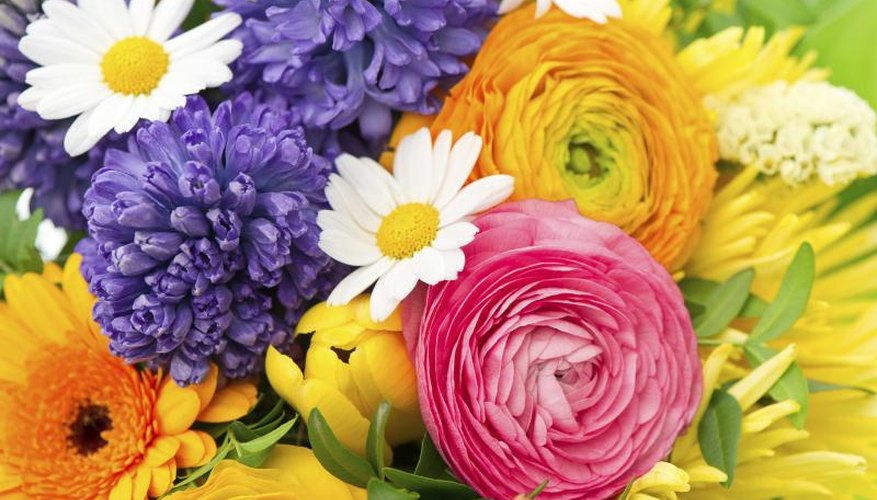 Rounded ranunculus brim with petals, but leave fragrance to other blooms.