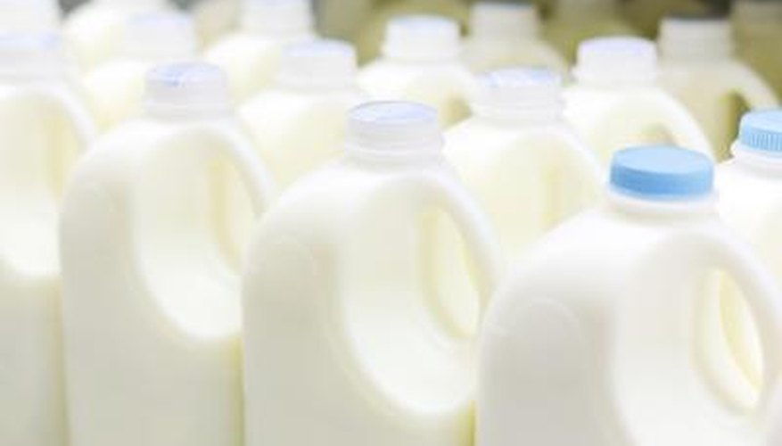 HDPE plastics are used to make milk jugs and other food packaging.