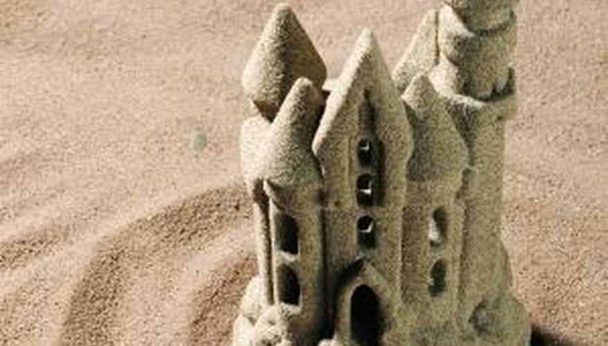 See who can build the best sandcastle on your lunch date.