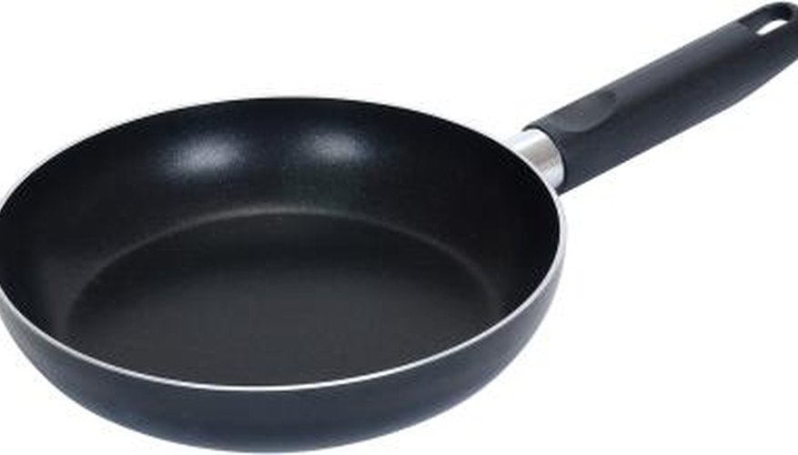 Non-stick cookware can often be repaired with a little time and effort.