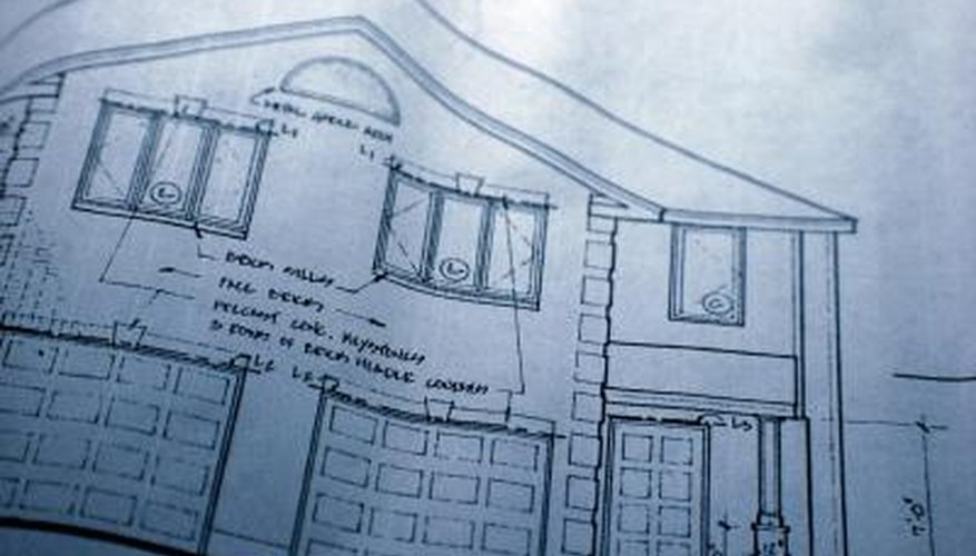 Make a diagram of the house and write down the measurements.