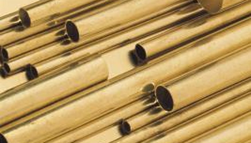 Copper piping is available in a range of sizes to suit different jobs.