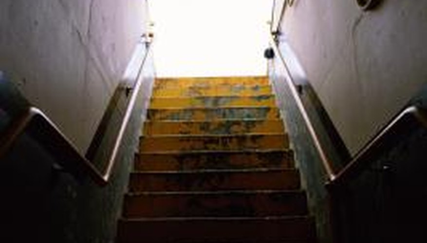 Give your basement stairs a much-needed makeover.