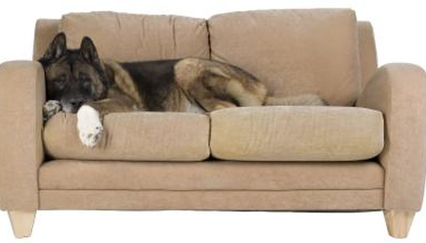 Many couch cushions are flipped for freshness.
