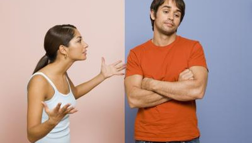 Getting a man to listen to you takes some skill.