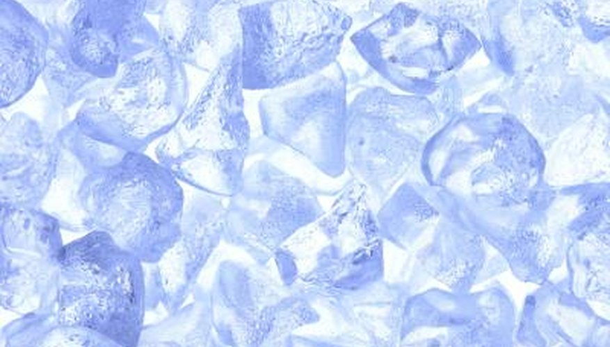 It takes your ice maker a while to switch from crushed to cubed ice.
