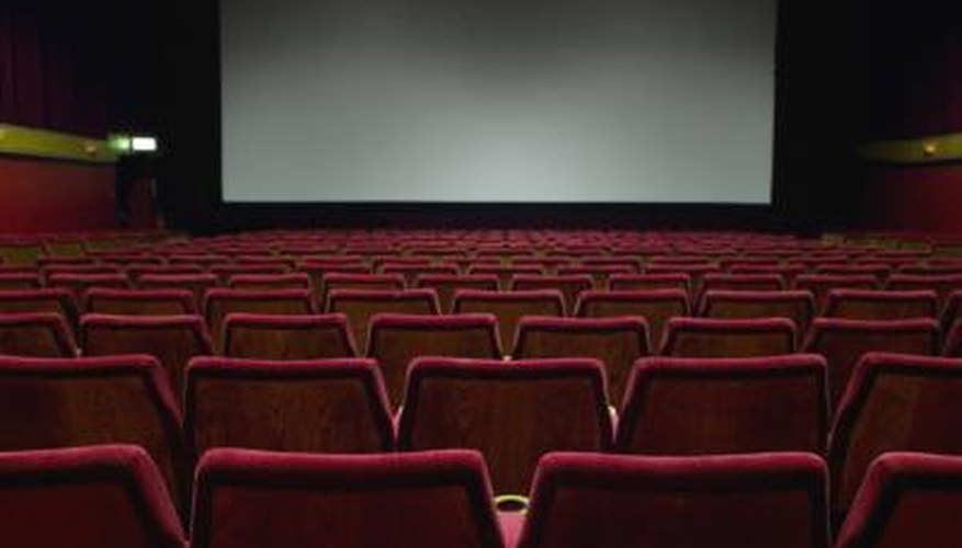 Pick a movie in the theater.