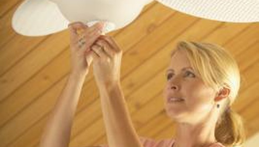 Ceiling fans help you stay cool by circulating air around your body.